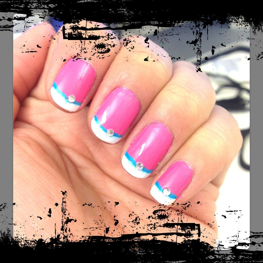 Barbie inspired nails!