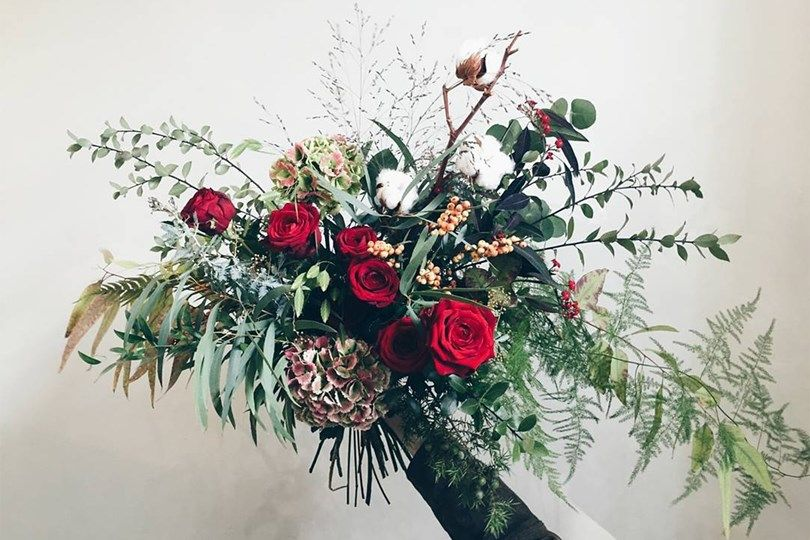 Christmas Wedding Bouquets Uk.Winter Wedding Flower Ideas Ramos Novias