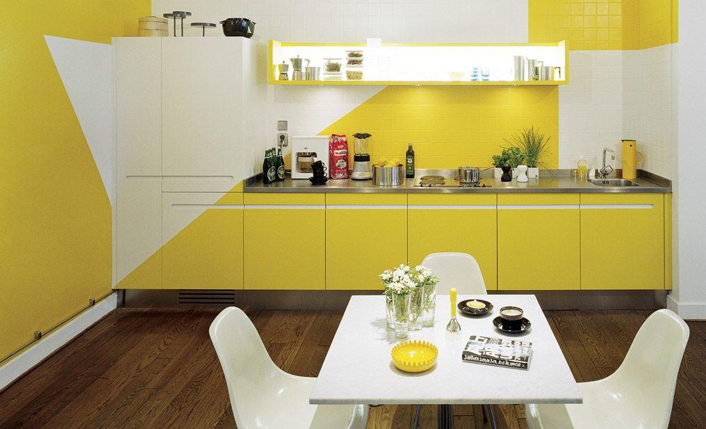 yellow modern kitchen cabinets yellow kitchen on kitchen interior yellow and white id=52738