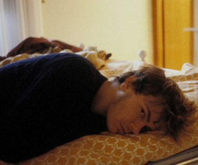 River Phoenix on the set of My Own Private Idaho (1991)