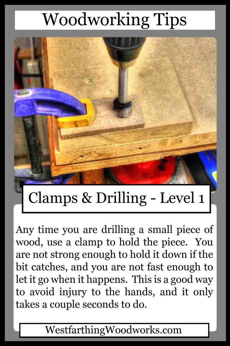Drilling for fun