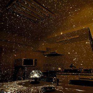 Amazon Com Uzzo Romantic Star Projector Lights Lamp Astrostar
