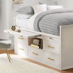 35 Genius Bedroom Storage Ideas for Small Spaces #smallbedroominspirations Awesome 35 Genius Bedroom Storage Ideas for Small Spaces Your bedroom should be a place of tranquillity, where you can unwind after a stressful day and get inspiration for the days ahead. However, if you're constantly...