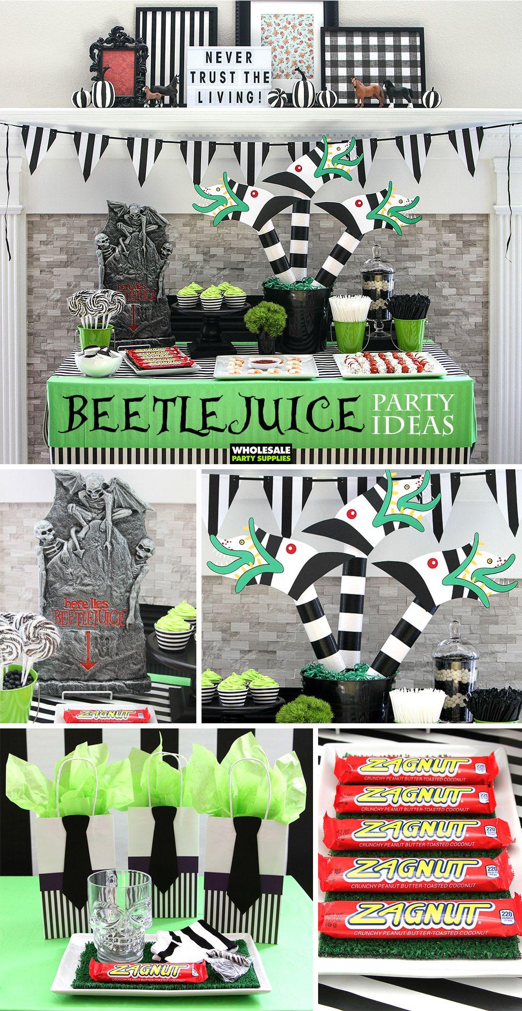 Beetlejuice Party Ideas