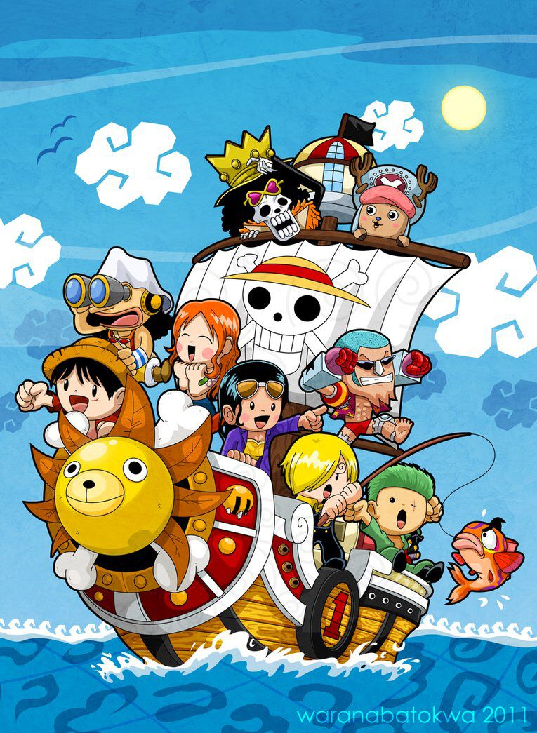 Chibi One Piece The Straw Hats Love The Manga And Anime One