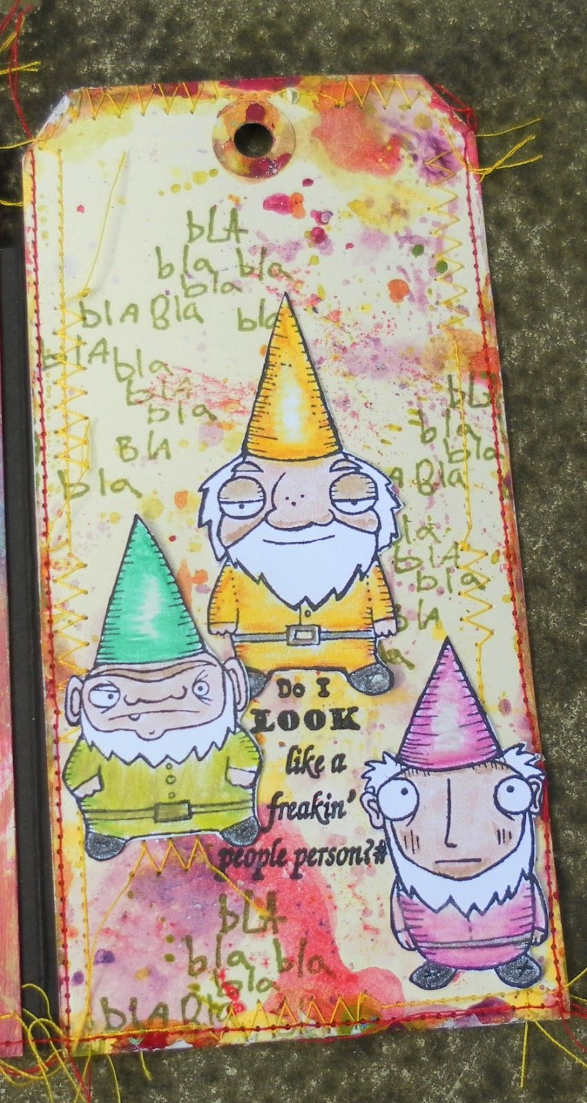 All sewn up with images scrapbook tag scrapbook blog
