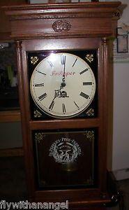 Dr Pepper Old Clocks Rare Dr Pepper 100 Original Years Oak Wall Clock Vintage Ebay Vintage Wall Clock Old Clocks Clock