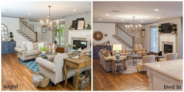 Inside A Fixer Upper Client S Home After The Show Small Living Roomsliving