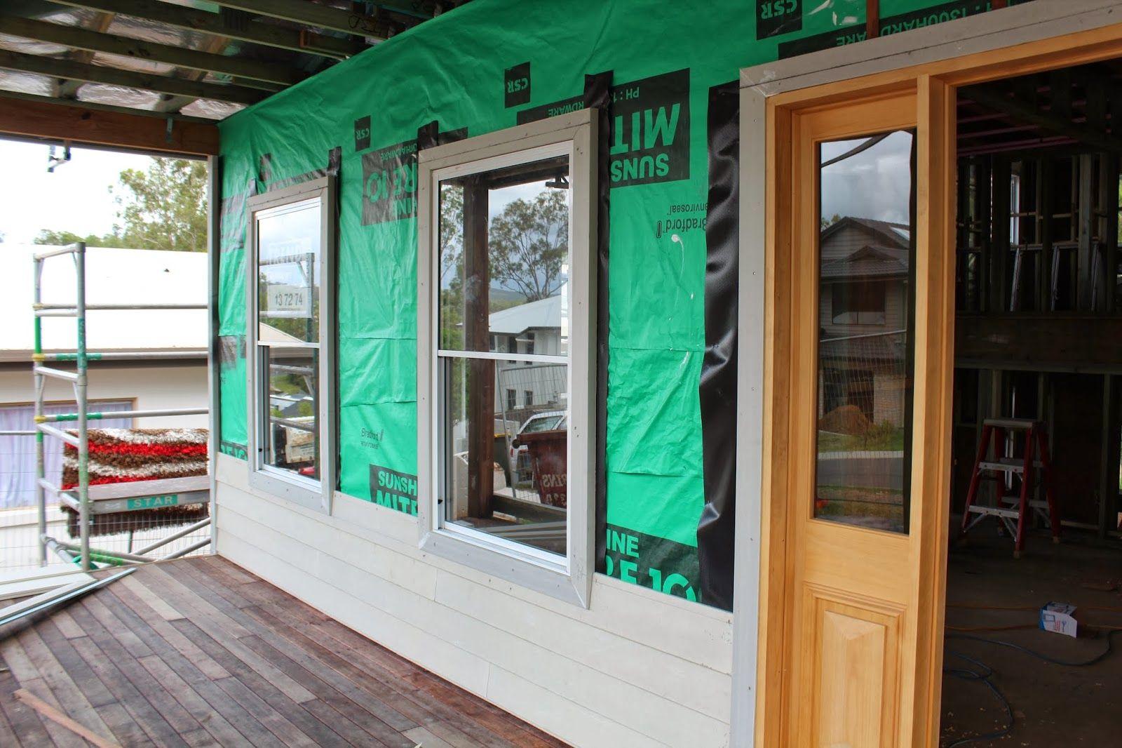 It S A New House Slim Aluminium Sash Windows With Timber Architraves External French Doors Architrave Aluminium Doors
