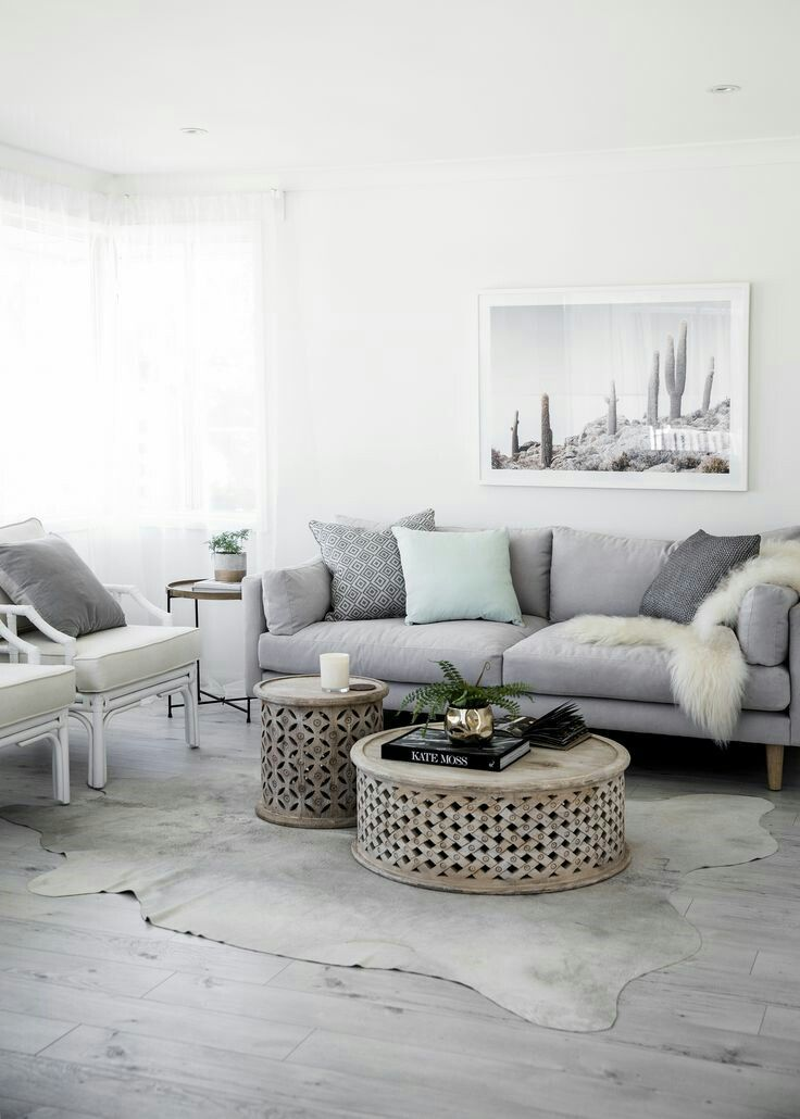 This Living Room Is Quite Soothing The Cool Browns Blues And Grays Are Just So Relaxing I Can Living Room Grey Living Room Designs Living Room Inspiration #soothing #living #room #colors