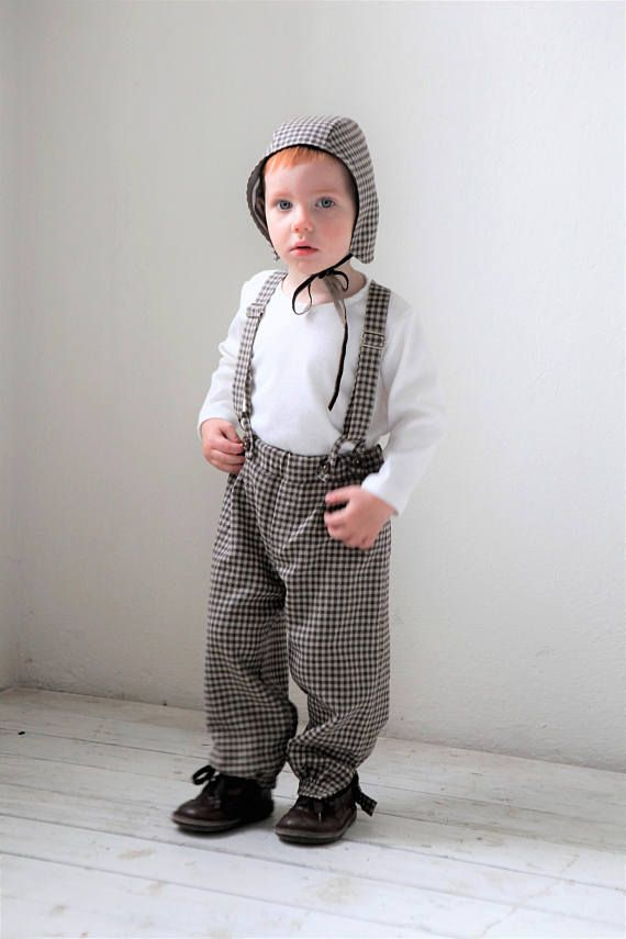 b973ce9642cc Baby boy pants Baby suspender pants Baby boy wool outfit Baby boy knickers Baby  clothes Family photo