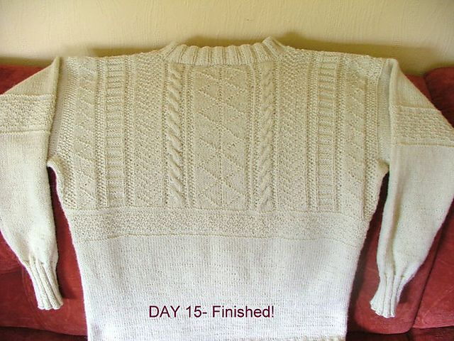 Ravelry: Traditional Cornish Guernsey pattern by Mary Wright From Cornwall