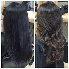Smokey Brown Hair