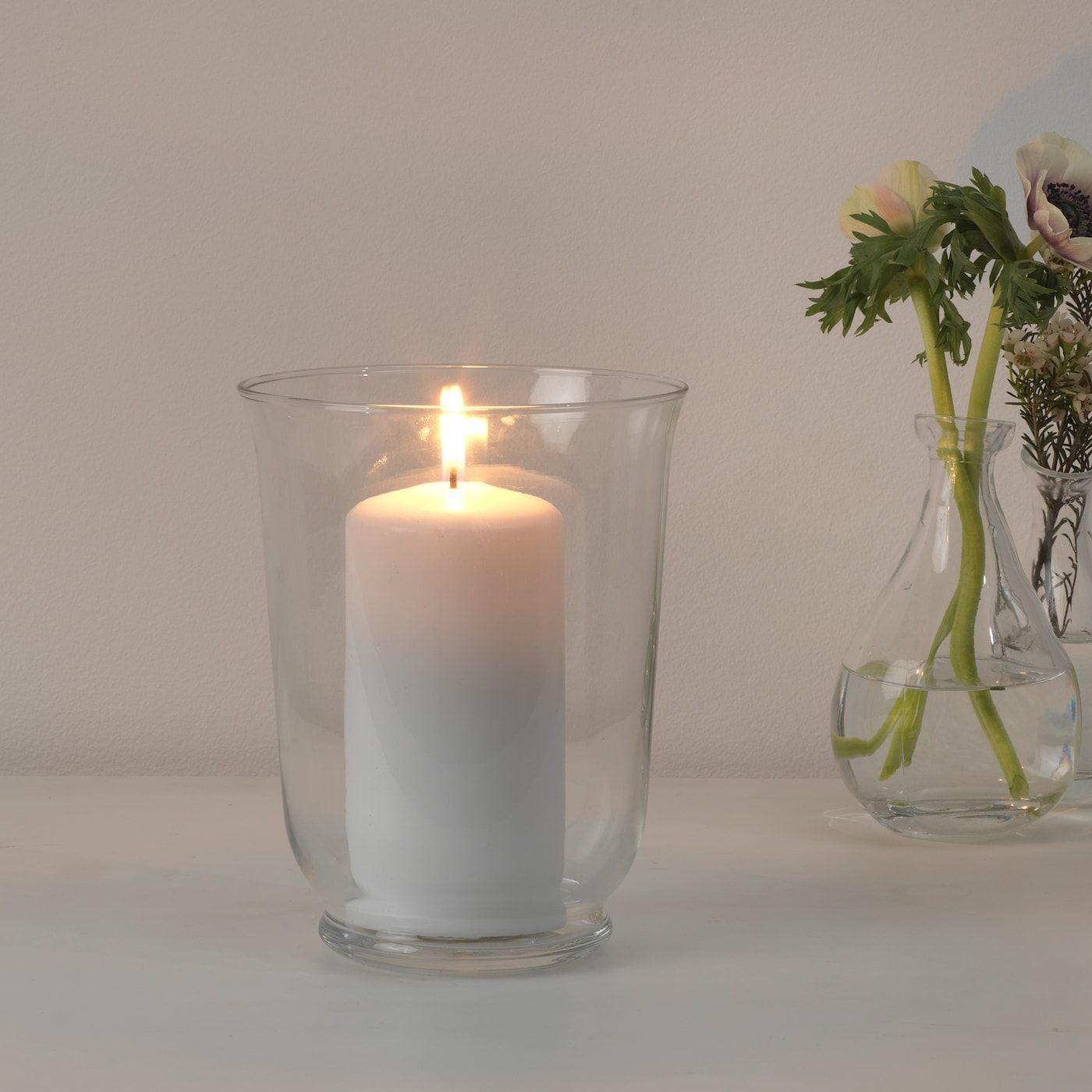 Pomp Vase Windlicht Klarglas In 2020 Kerzenhalter Kerzen