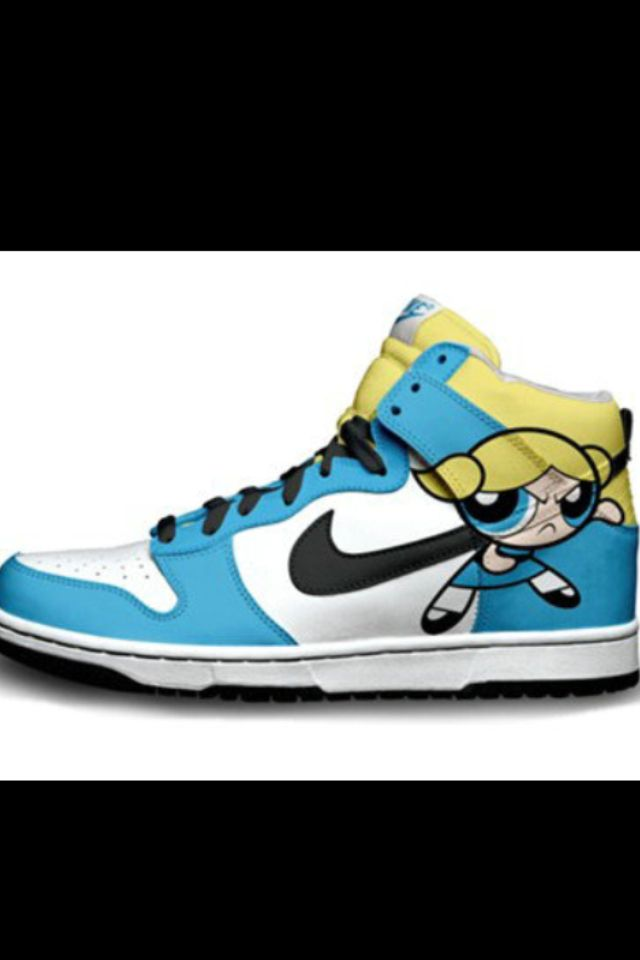 4786285be1b11 Power puff girls | Shoes | Sneakers nike, Girls sneakers, Nike high tops