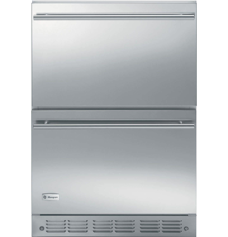 Refrigerateur Sous Plan En Inox Zids240bss Monogram Refrigerateur Sous Plan Frigo Tiroir Inox