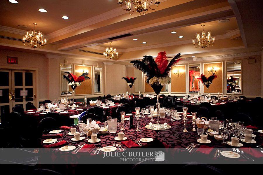 Black Red Silver Wedding Decorations Elegant Ali Scott
