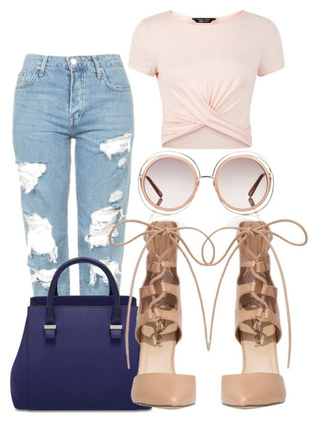"""""""Untitled #1342"""" by social-outcast-16 on Polyvore featuring New Look, Chloé and Topshop"""