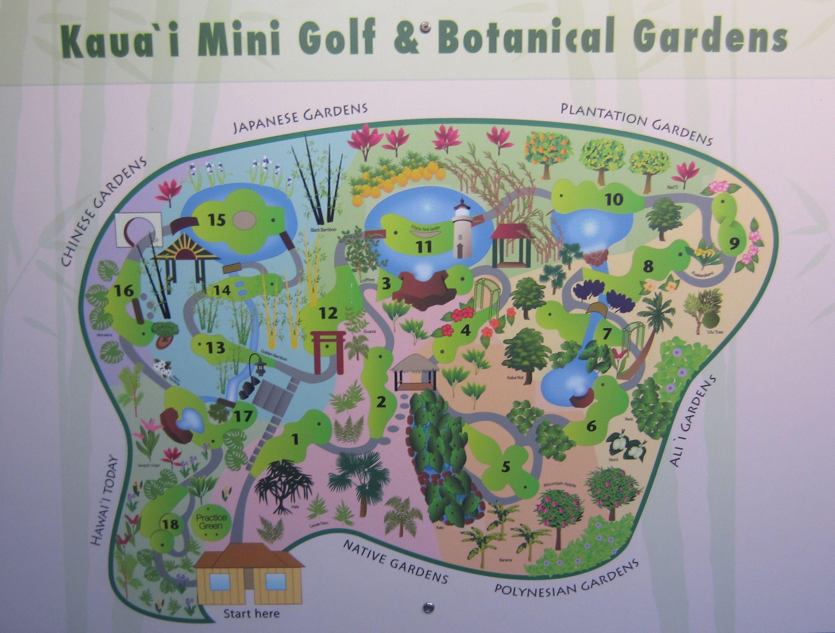 Kauai mini golf Kauai