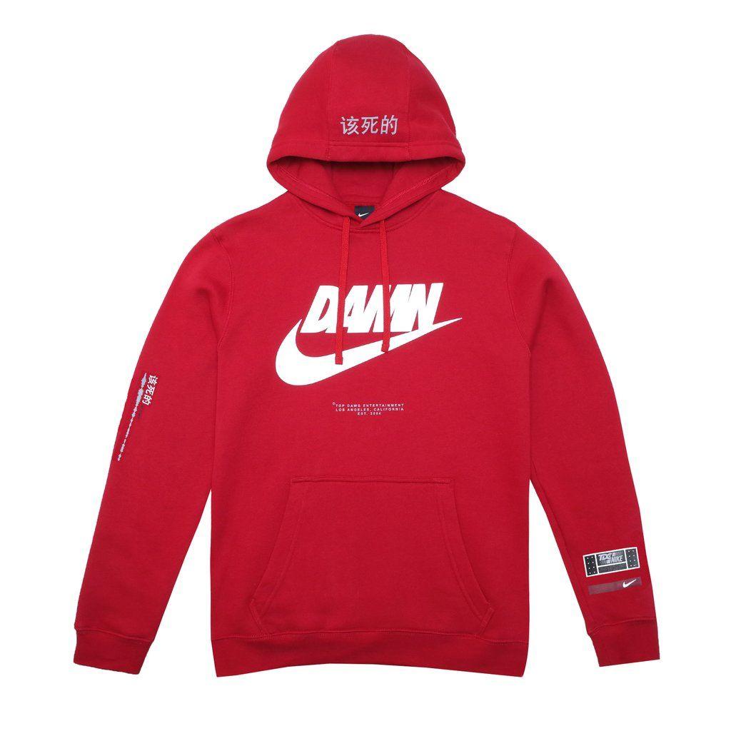 Personificación residuo legislación  Nike x Kendrick Lamar Hoodie (Red) | Red hoodie, Hoodies, Adidas jacket
