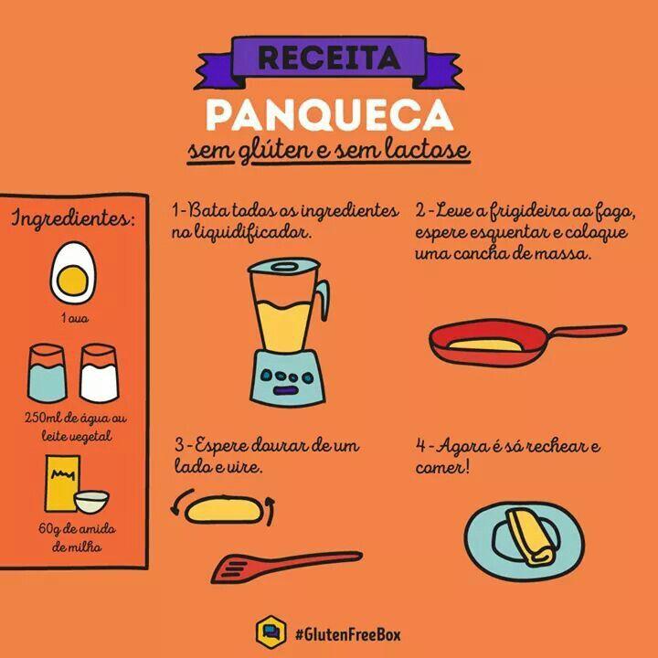 Panqueca free gluten