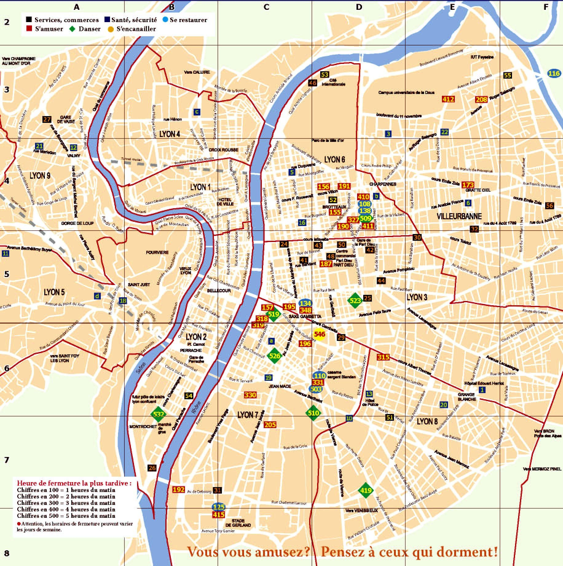 carte du grand lyon | Other | Pinterest