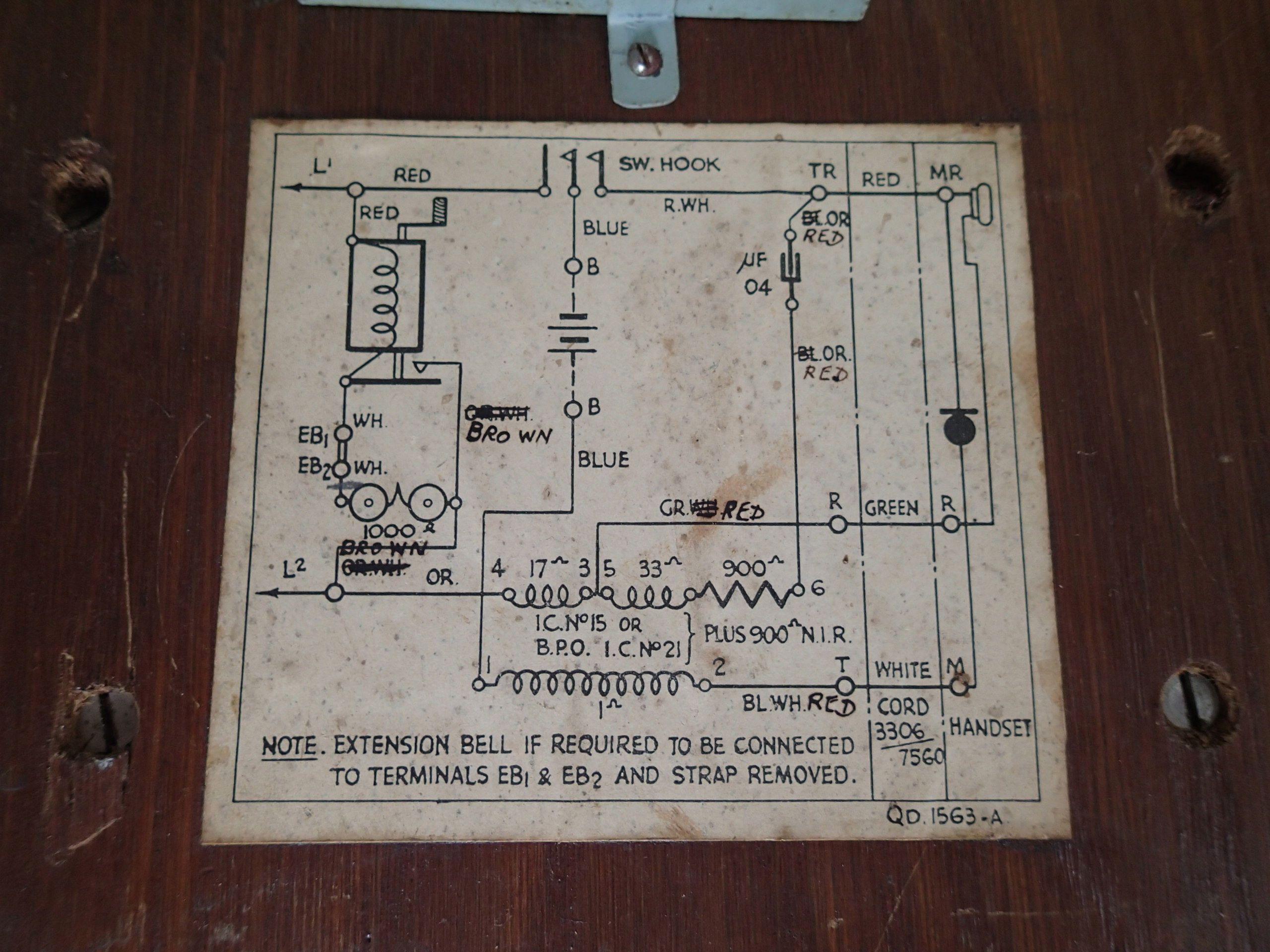 Kellogg Telephone Wiring Diagram - General Wiring Diagrams on
