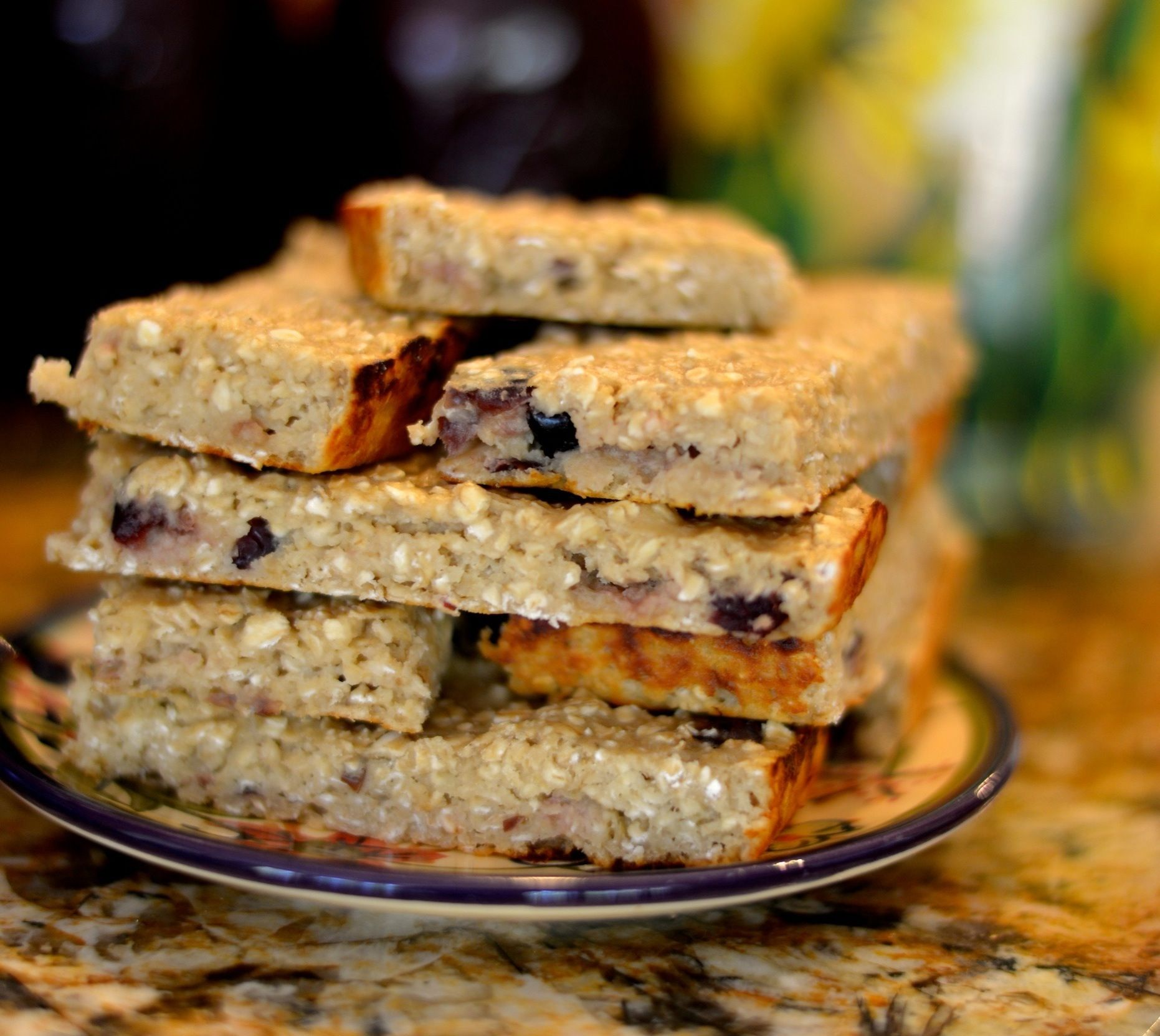 How To Make High Protein Low -Calorie Granola Bars