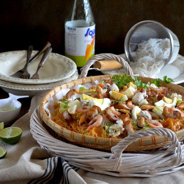 how to cook pancit palabok