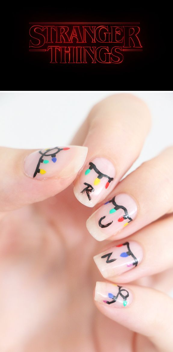 Chambre Ado Okay : Stranger things nails nail art pinterest