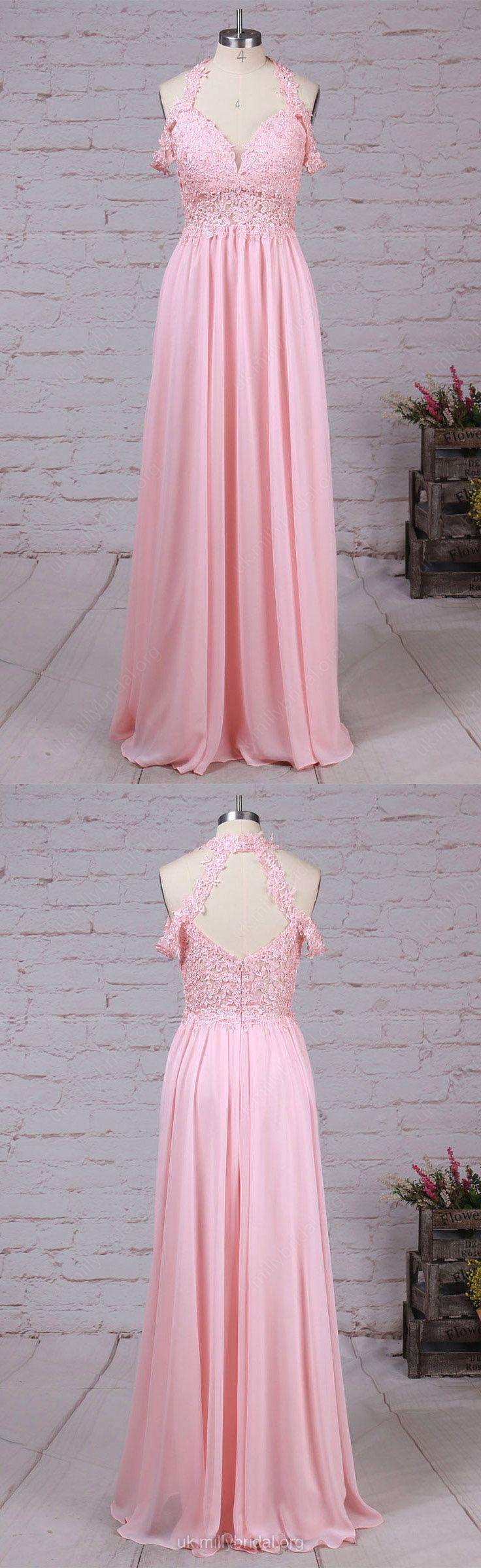 Pink prom dresseslong prom dressesmodest prom dresses chiffon