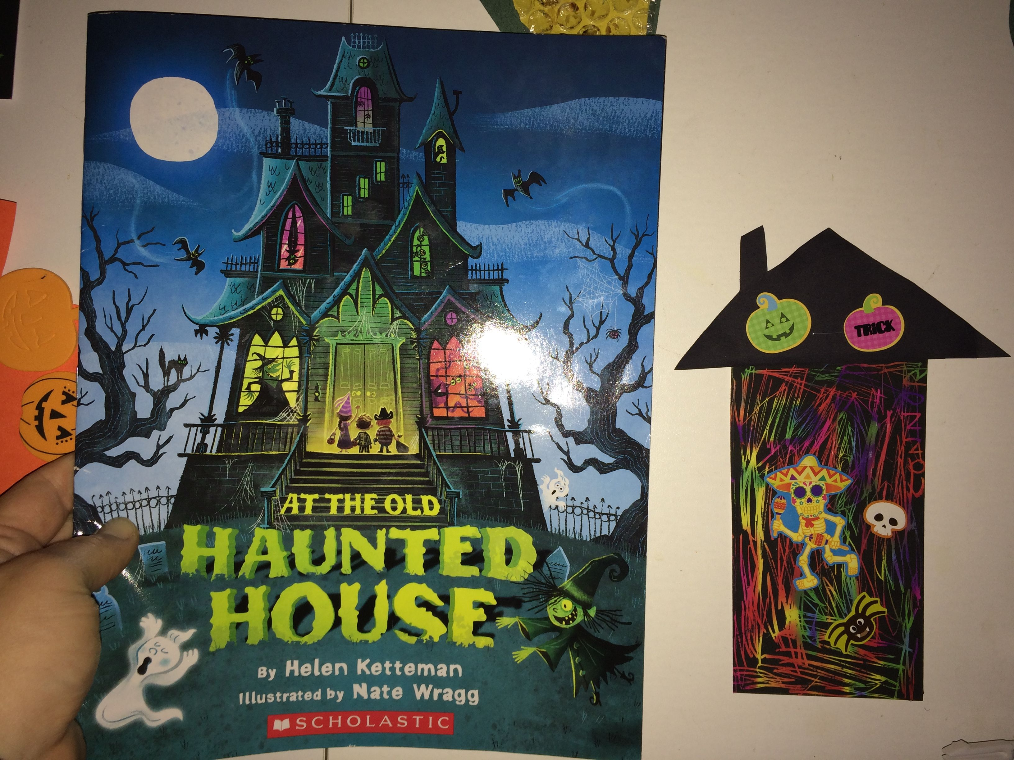 Haunted House Activity For Preschool Have The Kids Decorate Their Haunted Houses Using Scratch