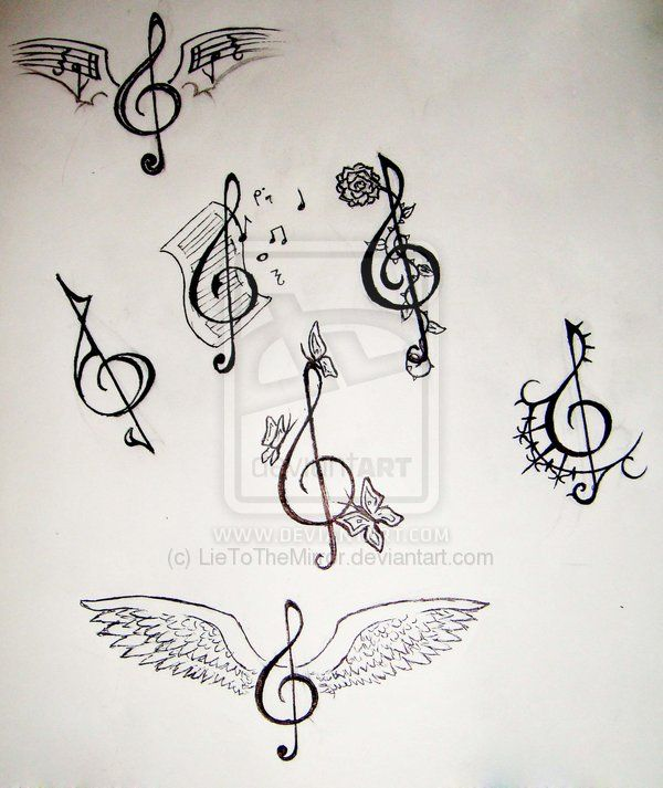 Tattoo Makers 25 Breathtaking Key Tattoo Symbolism Music Notes Tattoo Music Tattoos Music Drawings