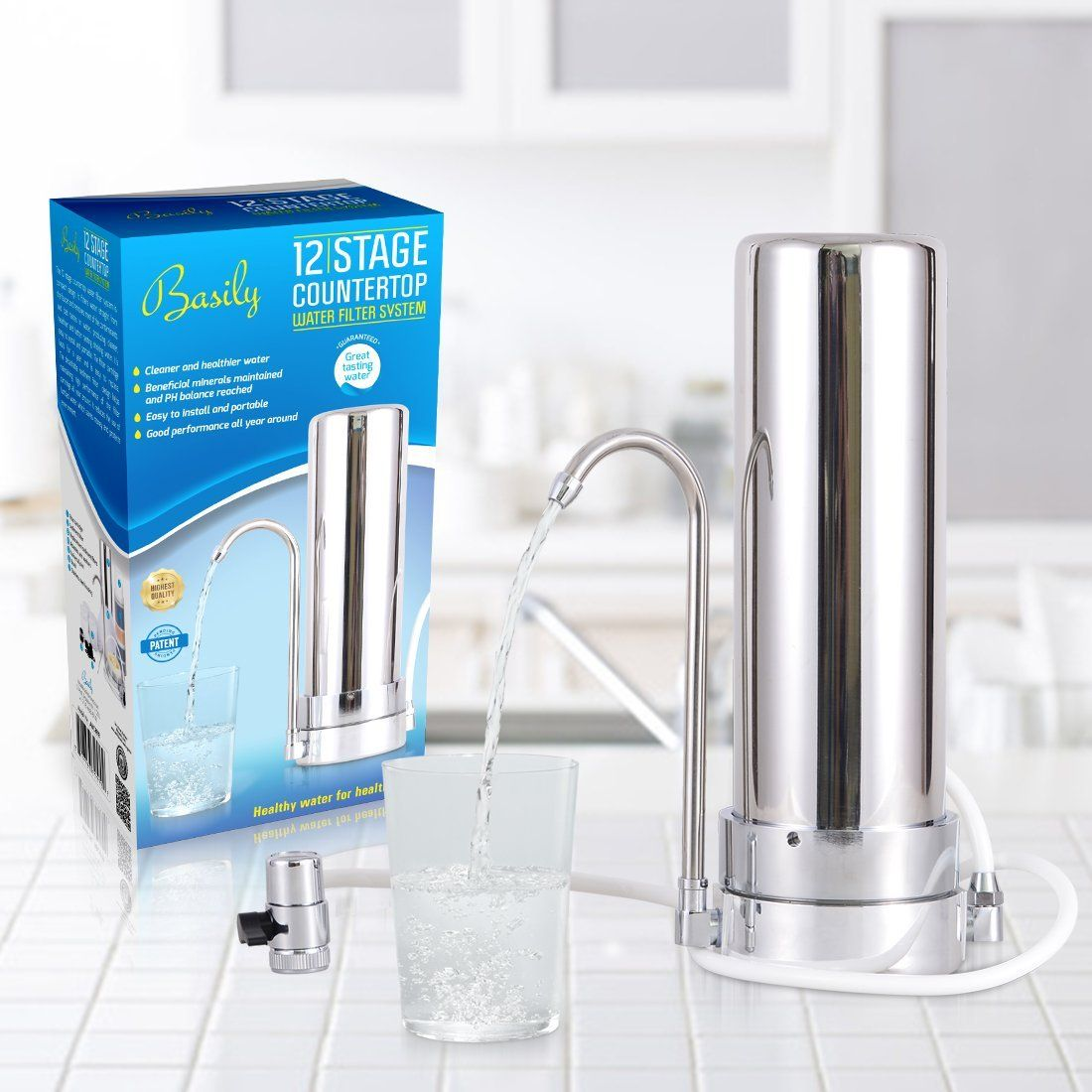 9 Best Countertop Water Filter Plus 1 To Avoid 2021 Buyers Guide Freshnss Countertop Water Filter Water Filter Best Water Filter