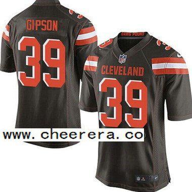 ... Browns Brown 39 Tashaun Gipson Brown Team Color 2015 NFL Nike Elite  Jersey ... Mens Stitched NFL Cleveland Browns 11 Terrelle Pryor Brown  Alternate ... ae776c5d0