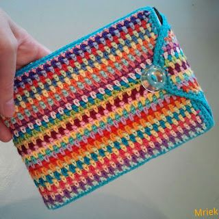 made by Mriek: Moss stitch oproep