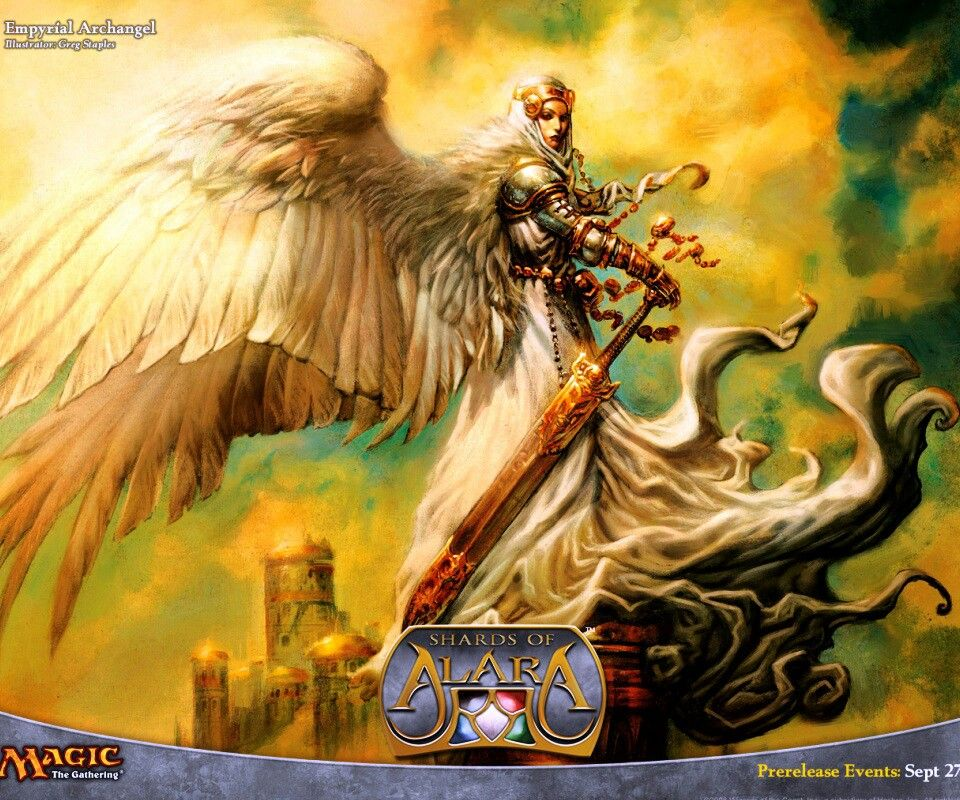 Empiryal Archangel (MTG TCG) - Greg Staples
