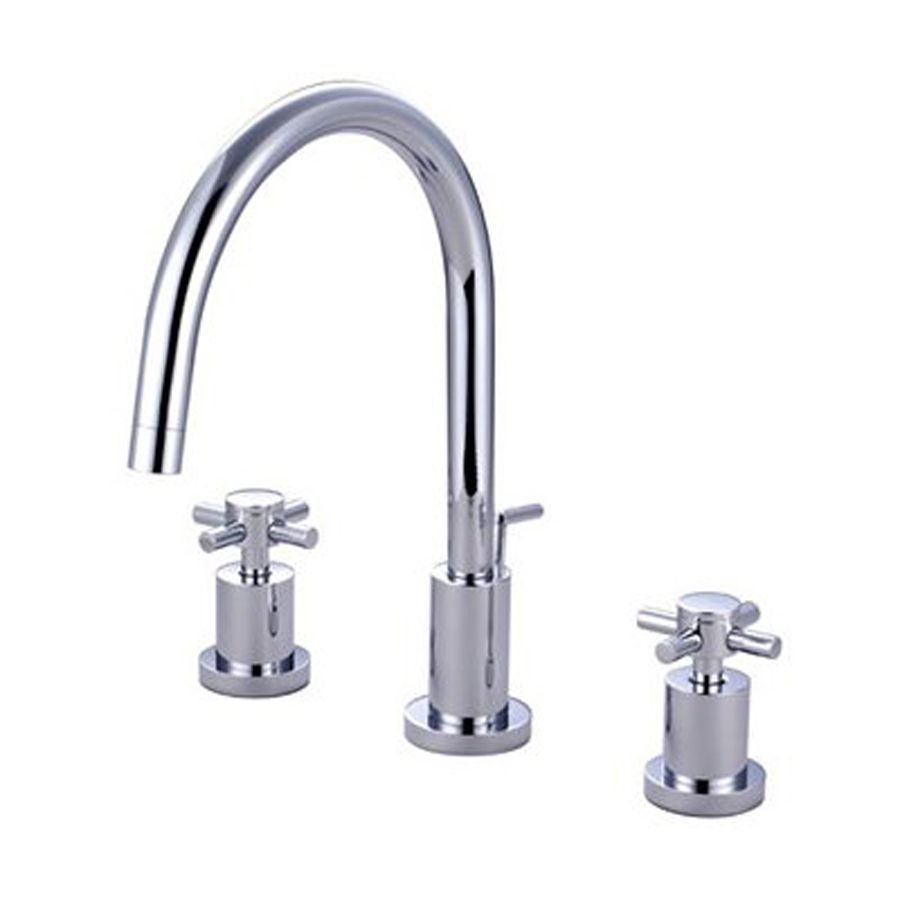 $230 | Elements of Design Concord Chrome 2-Handle Widespread Bathroom Faucet (Drain Included)