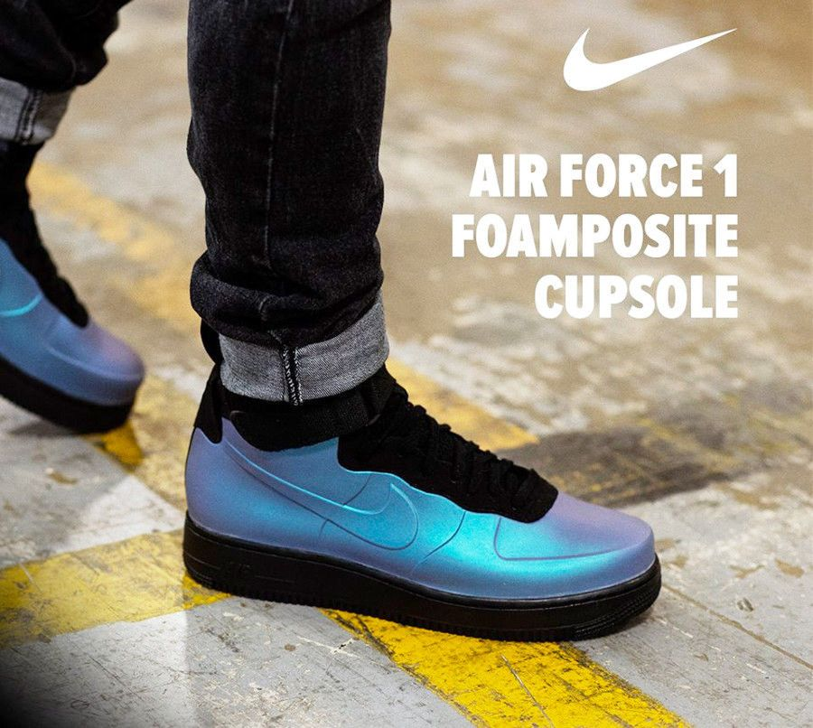 872e4122c5f NIKE AIR FORCE 1 FOAMPOSITE CUP LIGHT CARBON AH6771 002  foamposite   dailysole  kickstagram