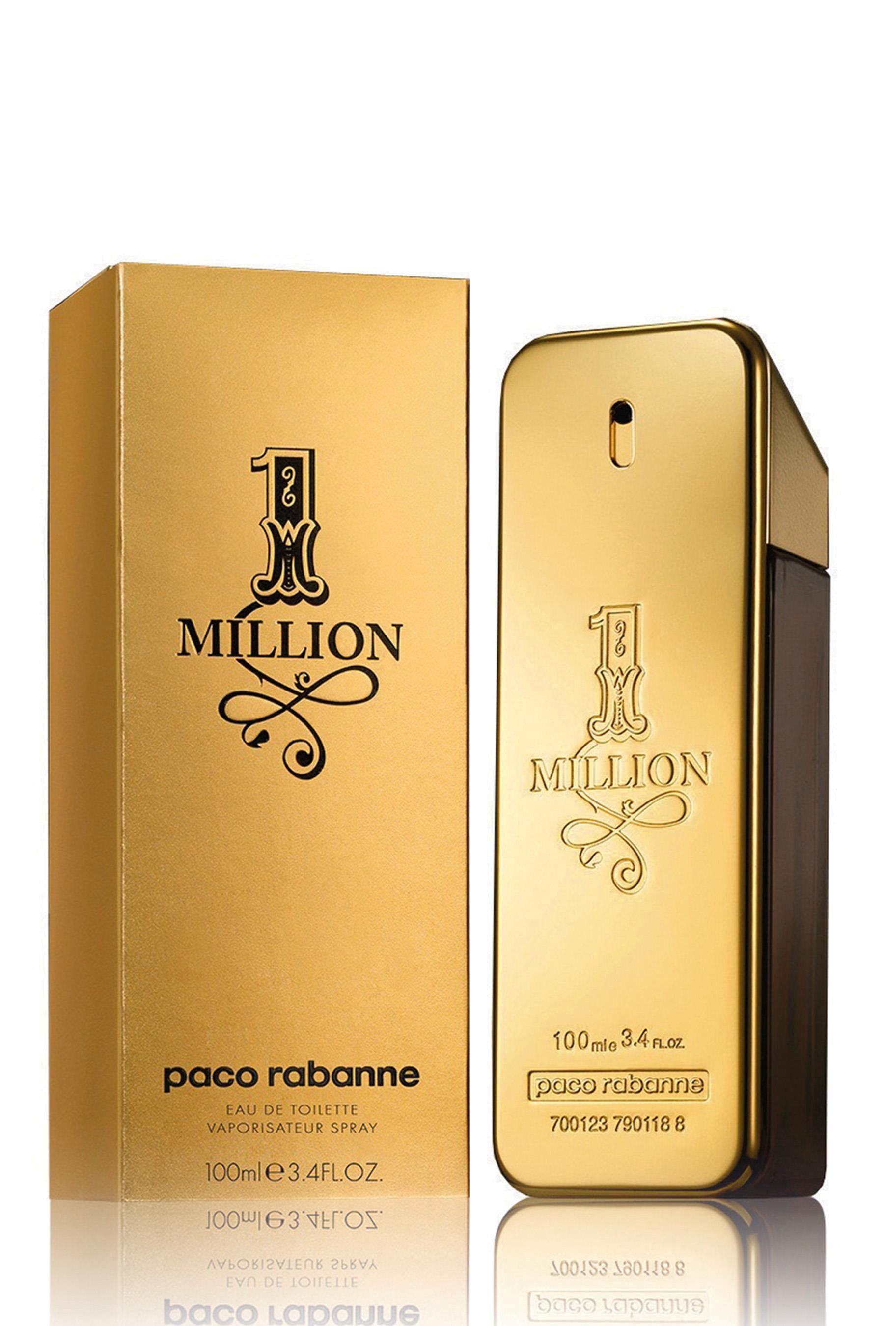 e6e81cf334 Womens Paco Rabanne One Million Eau De Toilette - Gold | Products ...