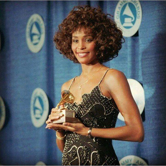 Whitney Carson Wedding Hair Style: Beautiful Whitney#whitneyhouston Also Follow @sanaalathan