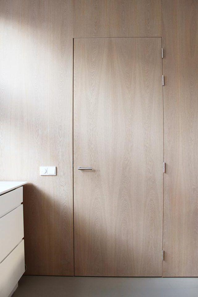 Flush wood door interior architecture pinterest for Flush interior wood doors