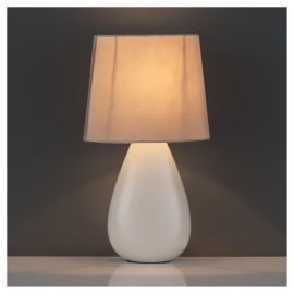 Buy tesco lighting chloe ceramic table lamp ecru from our table buy tesco lighting chloe ceramic table lamp ecru from our table lamps range tesco mozeypictures Gallery