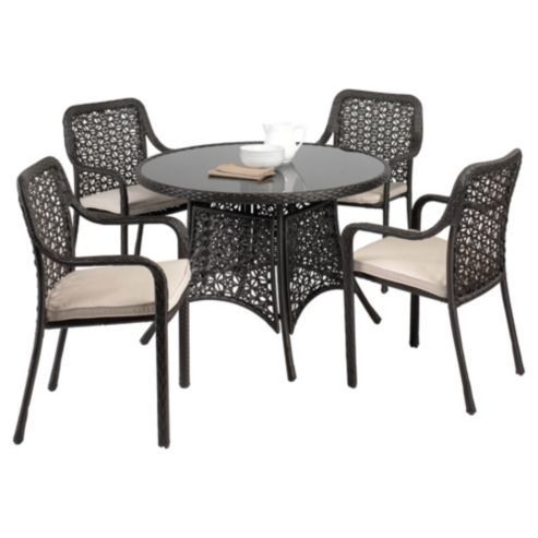 Buy Biscayne 4 Seat Set From Our Conservatory Furniture