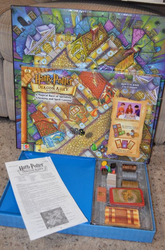 Rare Harry Potter Diagon Alley Board Game $79.99 today from The Thrifty Lab
