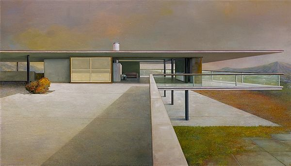 Modern Architecture Perspective painting modernism: architecture + art | concrete architecture
