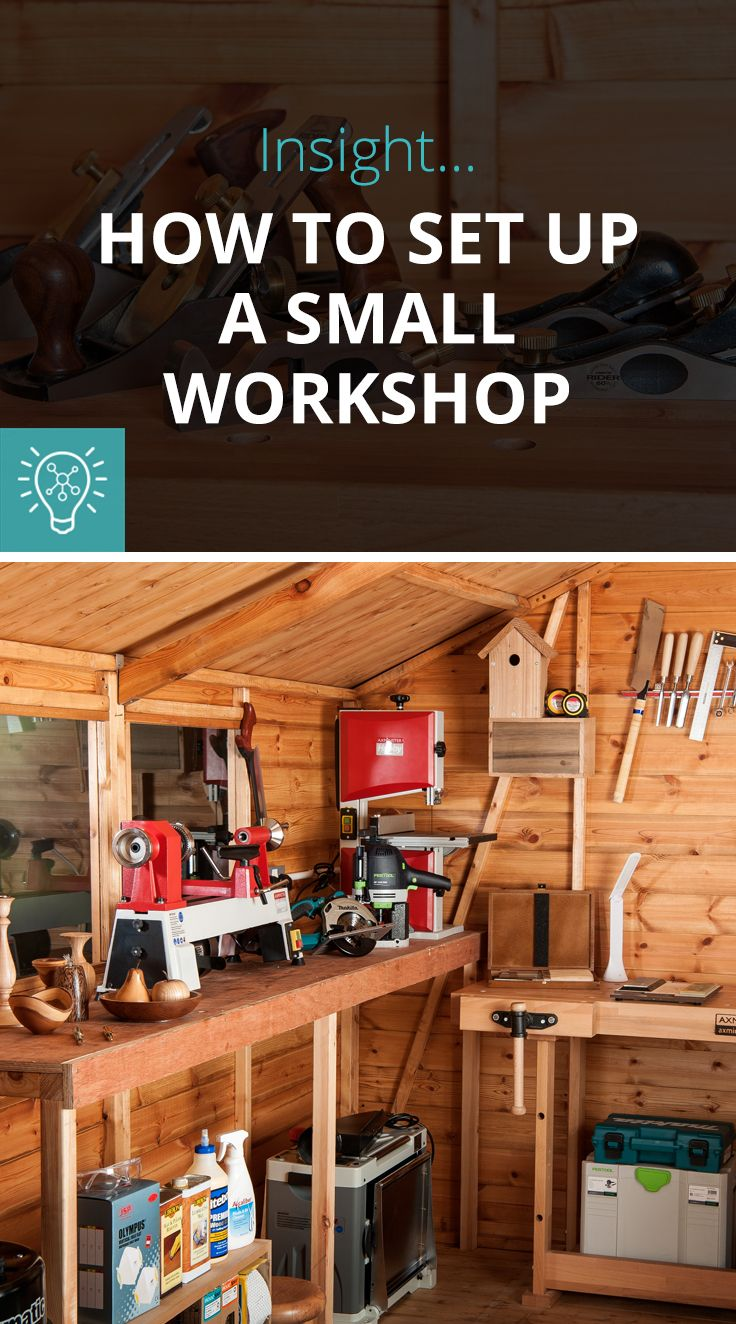 How To Set Up A Small Workshop - The Knowledge Blog ...