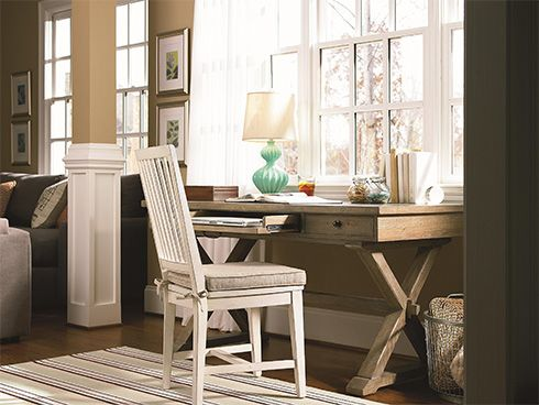 Related Image Library Office Pinterest Kitchen Family Rooms Rh Pinterest  Com Desks For Small Rooms Small Living Room With Desk