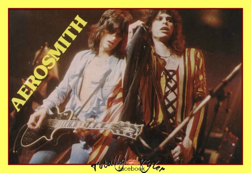 Joe Perry And Steven Tyler Back In The 70s 70s Memories