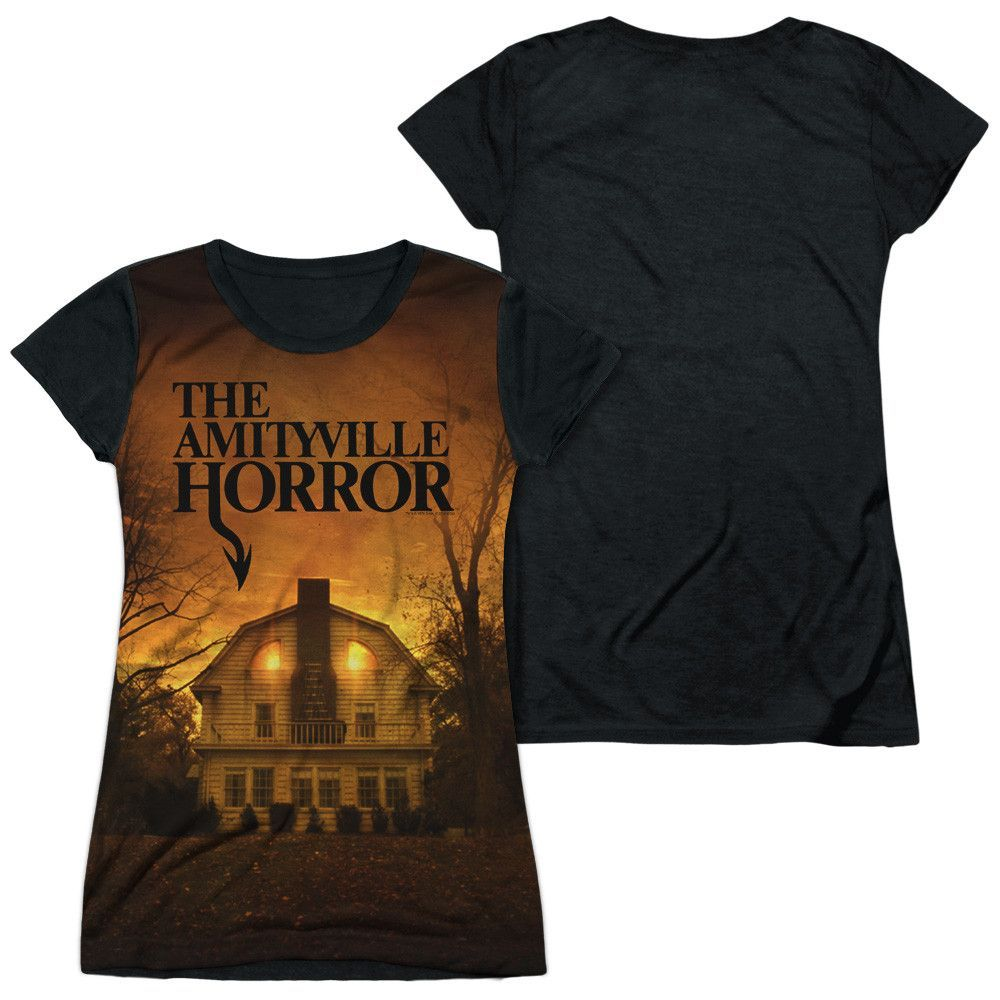 Amityville Horror - House Junior All Over Print 100% Poly T-Shirt